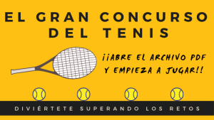 portada concurso del tenis